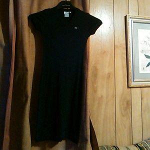 Lacoste t-shirt knee length dress